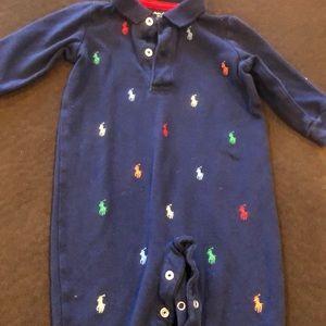 Ralph Lauren baby onesie six months